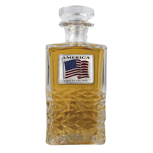 US FLAG HERITAGE DECANTER