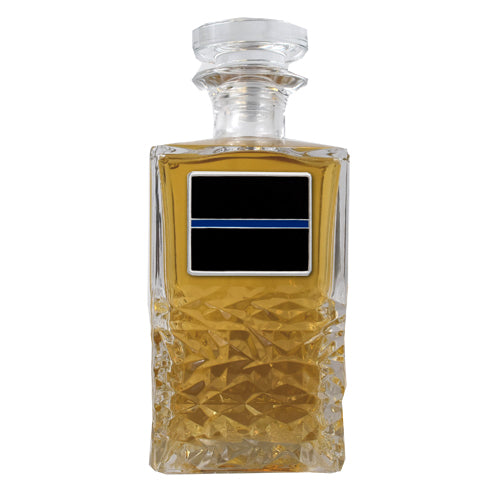 THIN BLUE LINE HERITAGE DECANTER