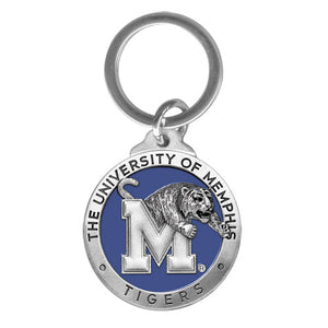 MEMPHIS TIGERS KEY CHAIN