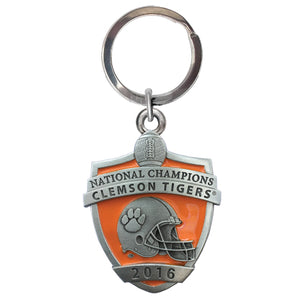 CLEMSON UNIVERSITY NATIONAL CHAMPIONS 2016 KEY CHAIN