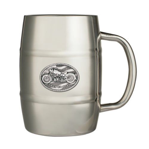 MOTORCYCLE KEG MUG
