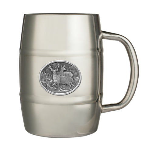 WHITETAIL DEER KEG MUG
