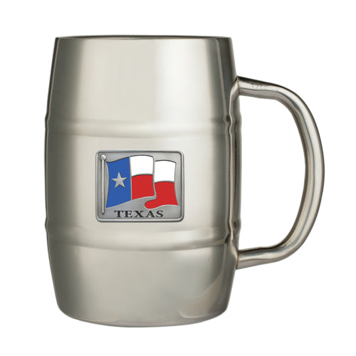 TEXAS FLAG KEG MUG