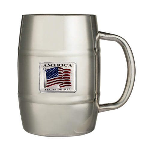 US FLAG KEG MUG