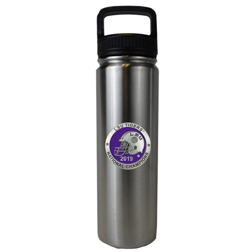 LSU NATIONAL CHAMPIONS 2019 LARGE WATER BOTTLE