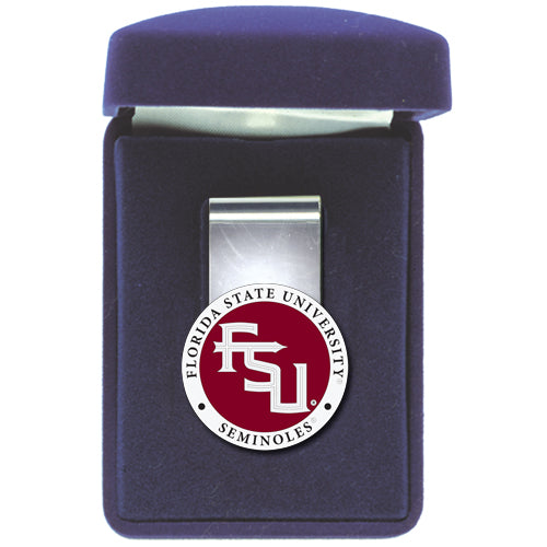 FLORIDA STATE UNIVERSITY FSU LOGO MONEY CLIP