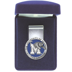 MEMPHIS TIGERS MONEY CLIP