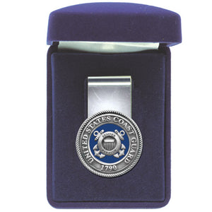 COAST GUARD MONEY CLIP