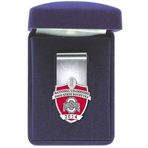 OHIO STATE UNIVERSITY NATIONAL CHAMPIONS MONEY CLIP