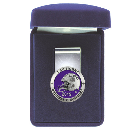 LSU NATIONAL CHAMPIONS 2019 MONEY CLIP