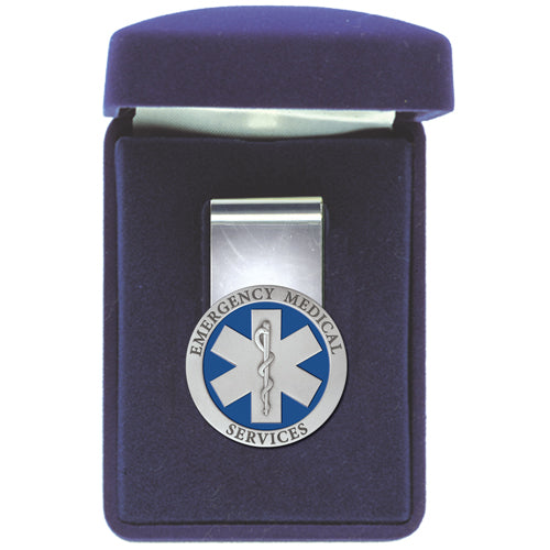 EMERGENCY MEDICAL MONEY CLIP