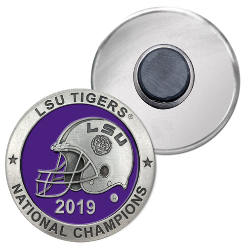 LSU NATIONAL CHAMPIONS 2019 MAGNET