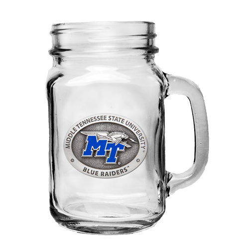 MIDDLE TENNESSEE STATE UNIVERSITY MASON JAR MUG