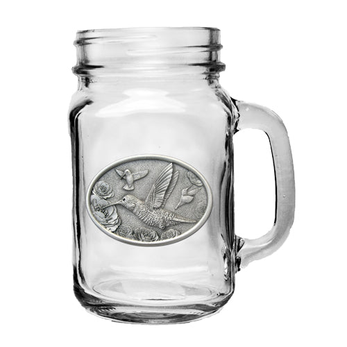 HUMMINGBIRDS MASON JAR MUG