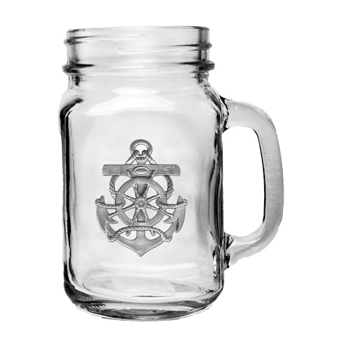 ANCHOR MASON JAR MUG