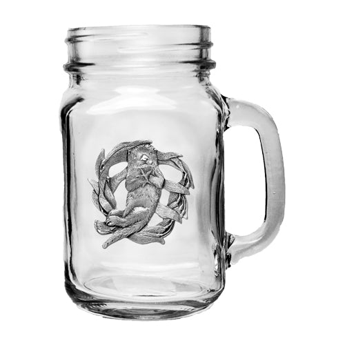 SEA OTTER MASON JAR MUG