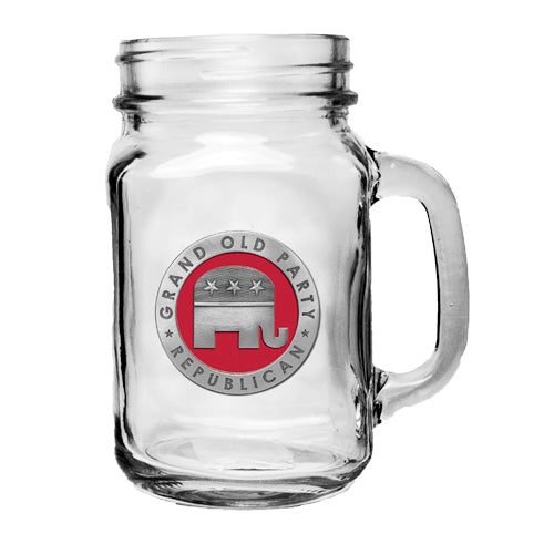 REPUBLICAN MASON JAR MUG