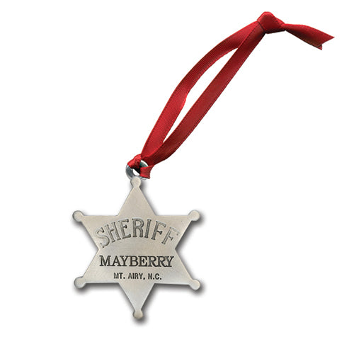 Sheriff Mayberry Ornament