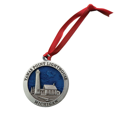 Michigan Tawas Point Lighthouse Ornament