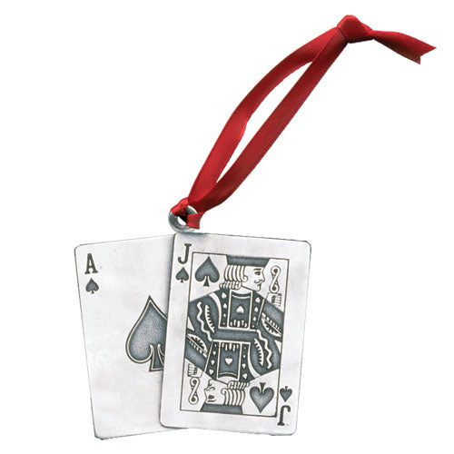 BLACK JACK ORNAMENT