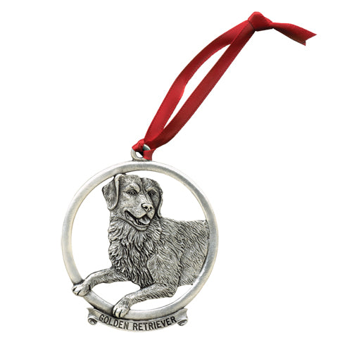 GOLDEN RETRIEVER ORNAMENT