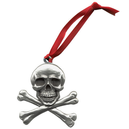 SKULL AND BONES ORNAMENT