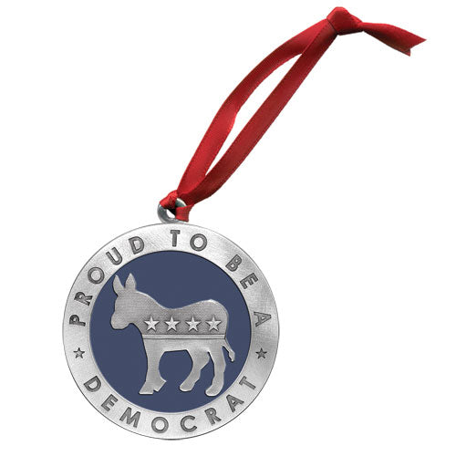 DEMOCRAT ORNAMENT
