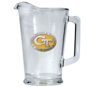 GEORGIA TECH UNIVERSITY GT LOGO PITCHER