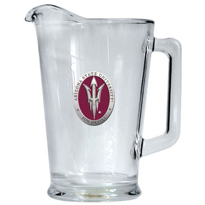 ARIZONA STATE UNIVERSITY PITCH FORK LOGO PITCHER