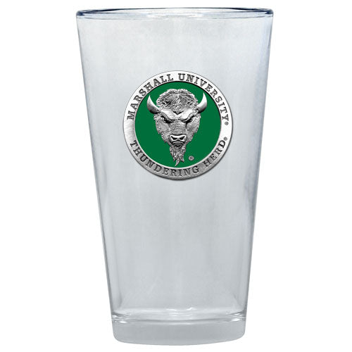 MARSHALL UNIVERSITY PINT GLASS