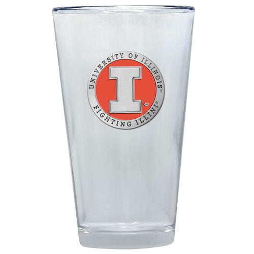 UNIVERSITY OF ILLINOIS PINT GLASS