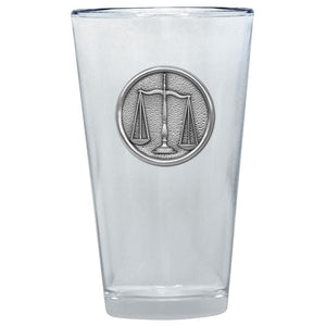 LAW PINT GLASS