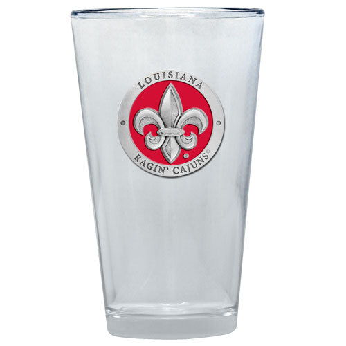 LOUISIANA AT LAFAYETTE PINT GLASS