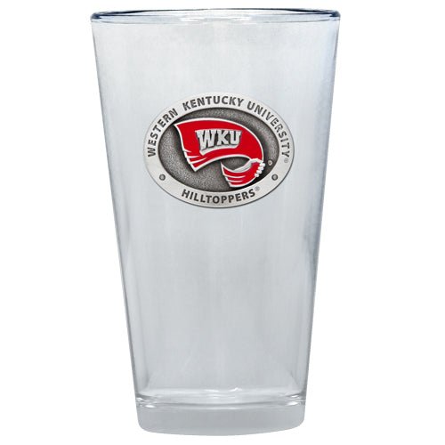 WESTERN KENTUCKY UNIVERSITY PINT GLASS