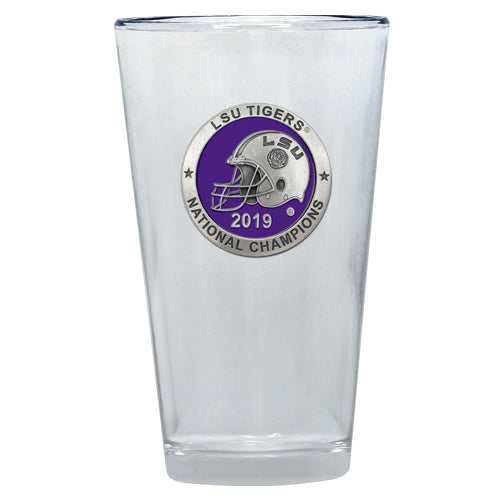 LSU NATIONAL CHAMPIONS 2019 PINT GLASS
