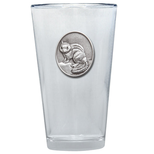 CHIPMUNK PINT GLASS