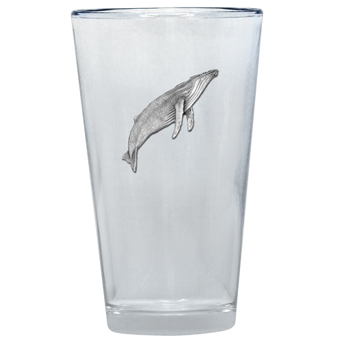 WHALE PINT GLASS