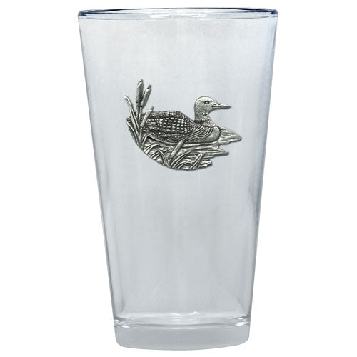 LOON PINT GLASS