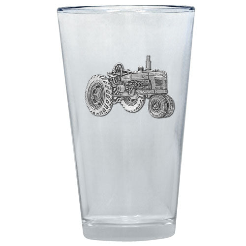 TRACTOR PINT GLASS