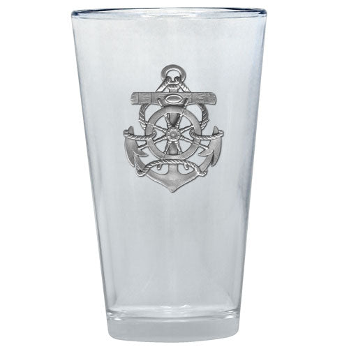ANCHOR PINT GLASS