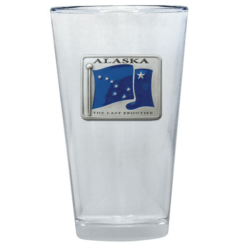 ALASKA FLAG PINT GLASS