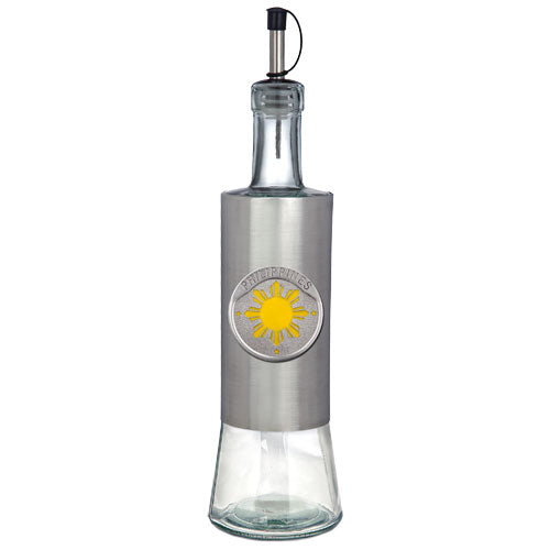 PHILIPPINES SUN POUR SPOUT STAINLESS GLASS