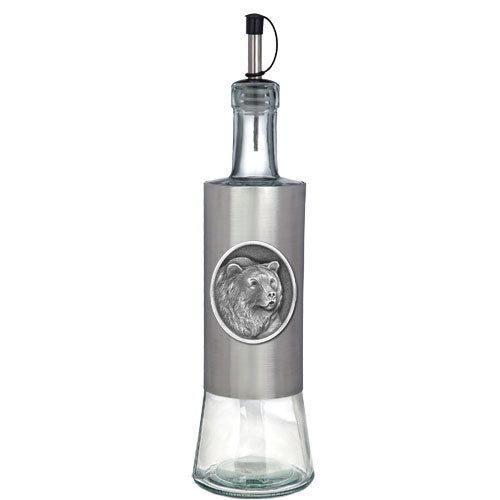 GRIZZLY BEAR POUR SPOUT STAINLESS BOTTLE