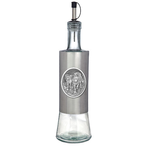 WOLVES POUR SPOUT STAINLESS BOTTLE
