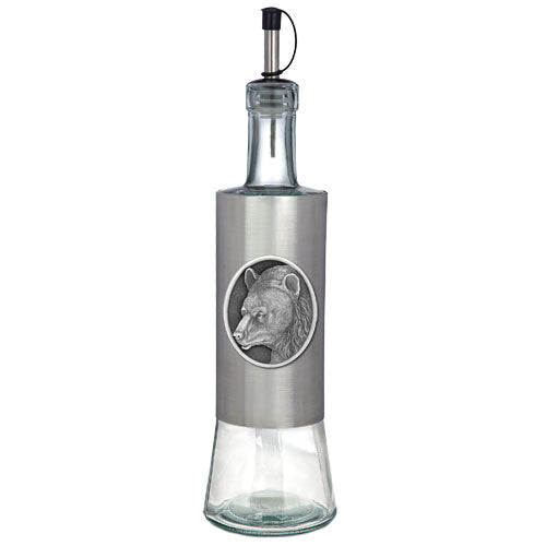BLACK BEAR POUR SPOUT STAINLESS BOTTLE