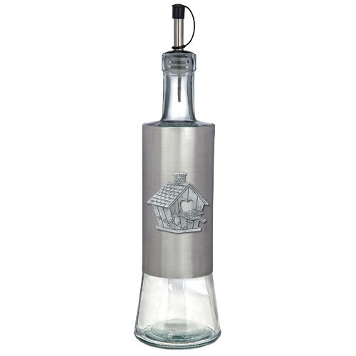 BIRDHOUSE POUR SPOUT STAINLESS GLASS