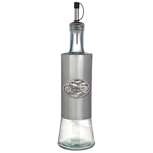 MOTORCYCLE POUR SPOUT STAINLESS GLASS