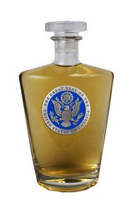 GREAT SEAL OF USA ROYAL DECANTER