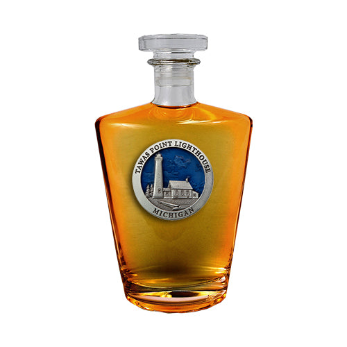 Michigan Tawas Point Lighthouse Royal Decanter