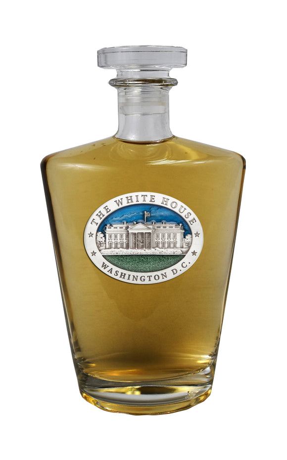 WHITE HOUSE BUILDING ROYAL DECANTER